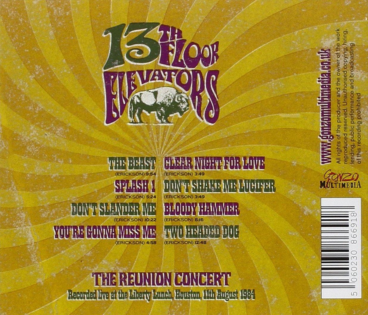 Johnkatsmc5 13th floor elevators the reunion concert for 13th floor elevators reunion