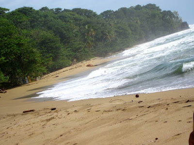 Playa de Cocles en Costa Rica