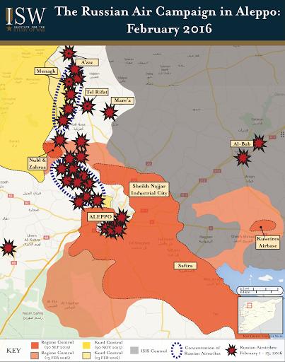 The Russian Air Campaign in Aleppo