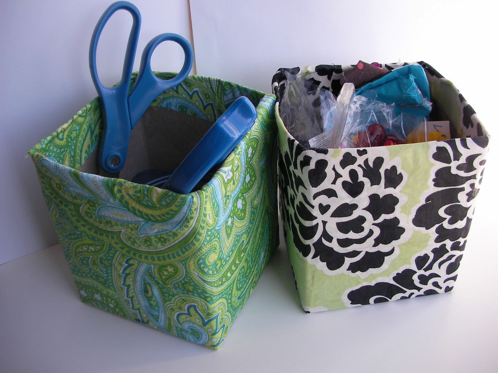 My First Room Toddler 3 Piece Room In A Box: Sew Fabulous: DIY Storage Containers