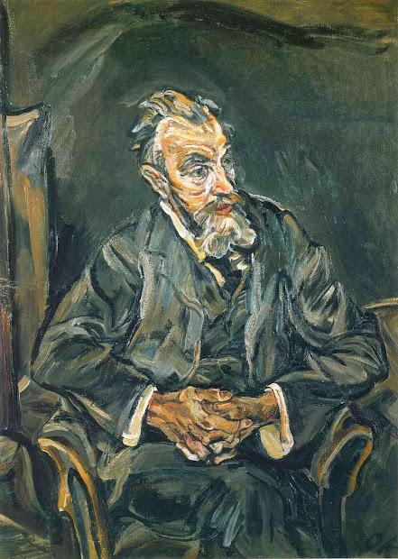 Chez Sentinelle L'art Du Portrait Oskar Kokoschka