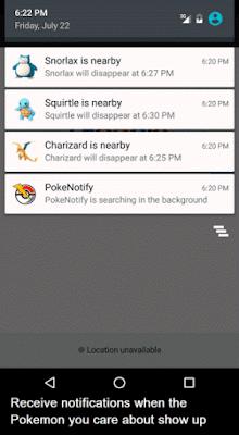 PokeNotify Apk v3.0