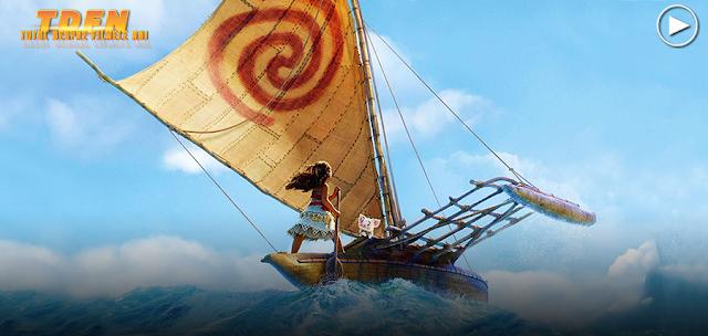 Noul trailer extins pentru fantastica animaţie a celor de la Disney: Moana.