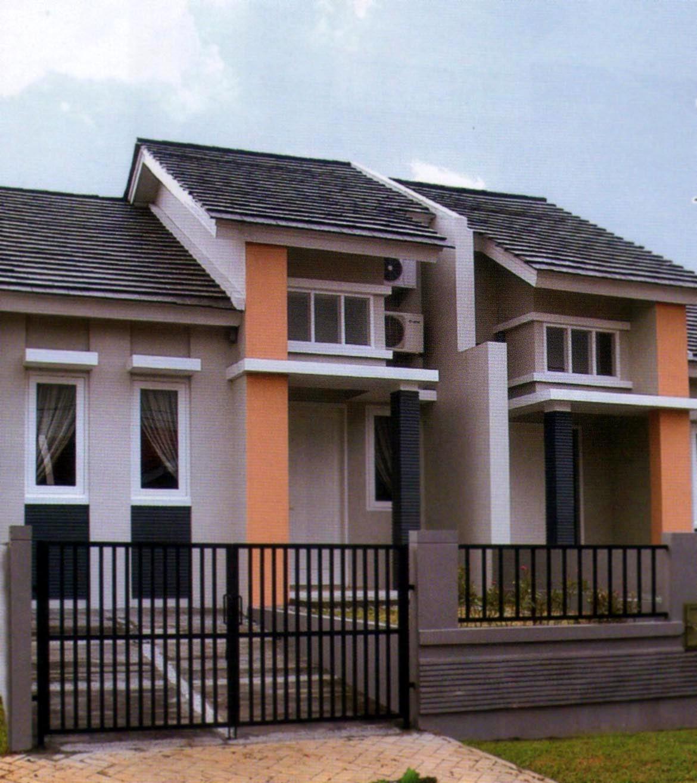 Desain Eksterior Rumah Kecil  Contoh O