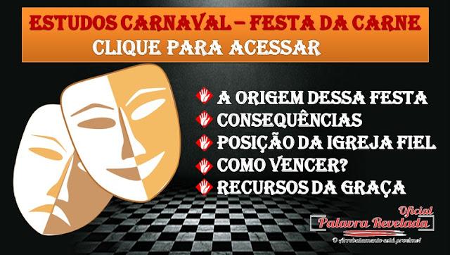 ESTUDO ESPECIAL SOBRE O CARNAVAL A FESTA DA CARNE