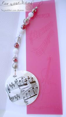 regalo maestro musica ringraziamento segnalibro incisione