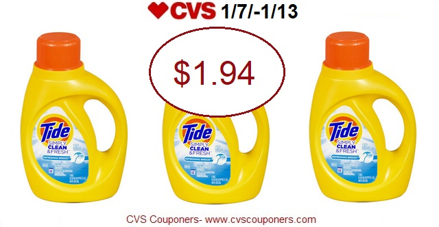 http://www.cvscouponers.com/2018/01/hot-tide-simply-clean-laundry-detergent.html