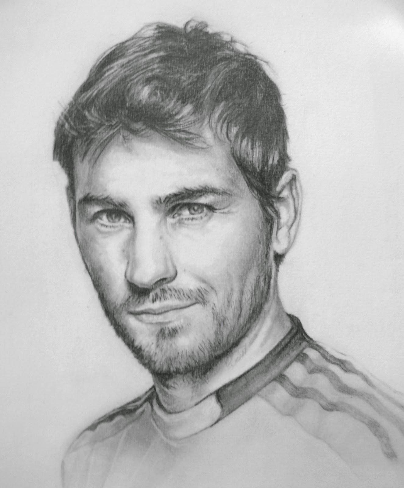Dibujo De Iker Casillas Para Colorear Dibujo De