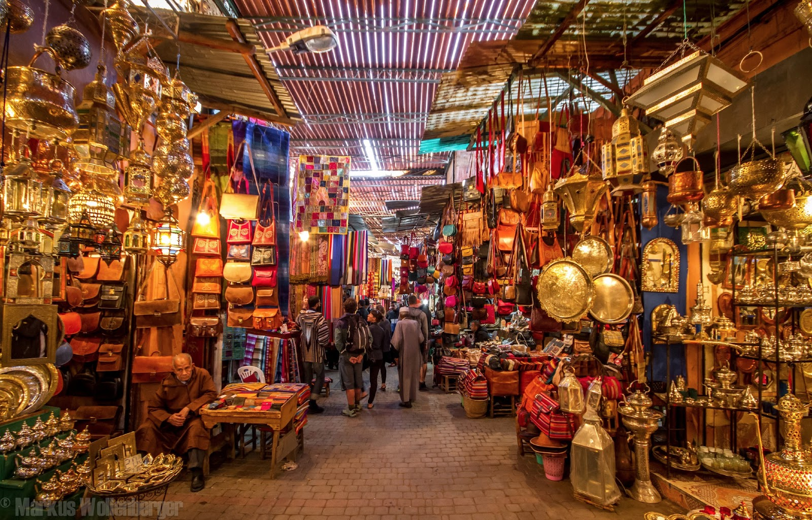 shopping the marrakech souks