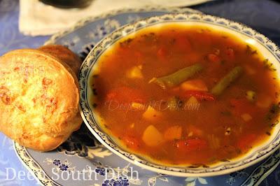 Deep South Dish Homemade Vegetable Soup