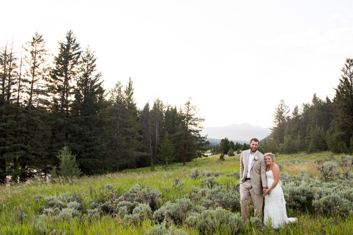 Montana Wedding / Rainbow Ranch / Jessie Moore Photography