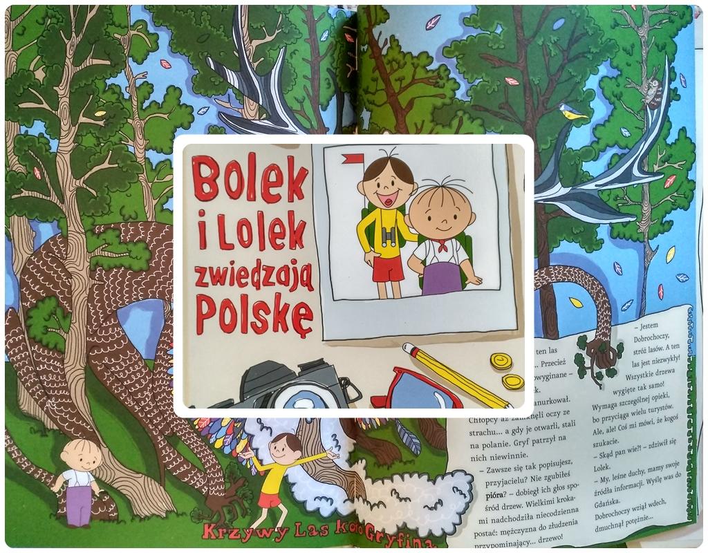 Bolek i Lolek zwiedzają Polskę.