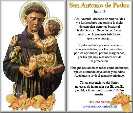 Blog Católico Gotitas Espirituales San Antonio De Padua