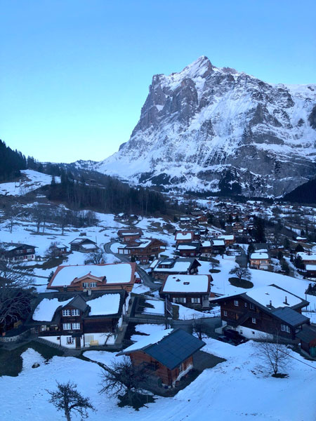Grindelwald First Cliff Walk travel guide photo