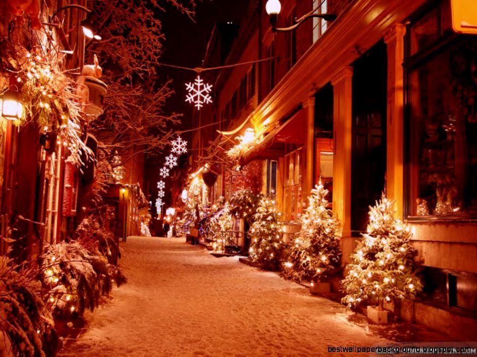 Outdoor Christmas Decorations Wallpaper Best Wallpaper