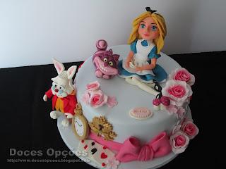 cake Alice no País das Maravilhas disney