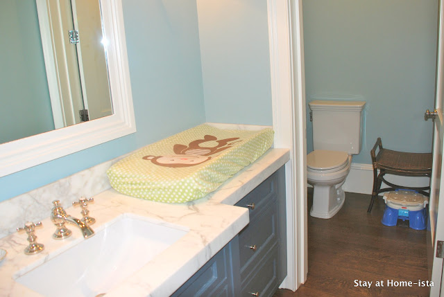 Stay At Home Ista The Powder Room Downstairs Changing Station