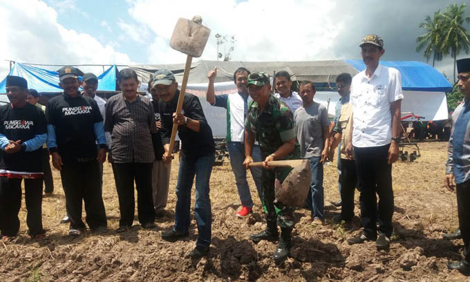 Gaya Natural Cakka, Berbaur dengan Petani di Kampung