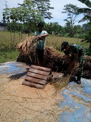 Koramil 04/Bojonggede Aktif Lakukan Serbuan Teritorial