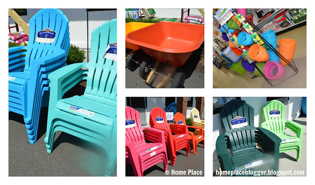 Country Paint and Hardware Adirondack Chairs