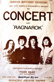 Sunday 5 June, 1977, at the Munical Theatre, Napier