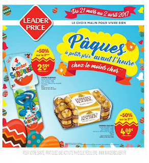 Leader Price 21 Mars au 04 Avril 2017