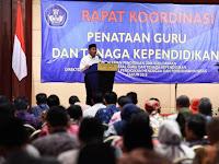 Kemendikbud Gelar Rakor Formasi Guru Tahun 2019, Ada Penerimaan CPNS 2019 ?