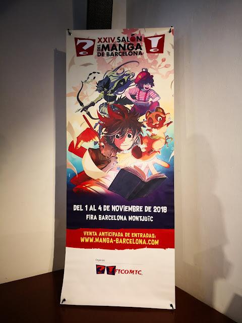Presentación del XXIV Salón del Manga de Barcelona.