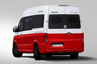 Volkswagen Crafter (Knaus Saint & Sinner) (2017) Rear Side