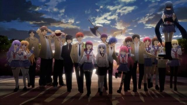Review Anime Angel Beats  |  Dari Comedy - School Hingga Drama - Romance nya Membekas Di Hati