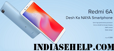 redmi 6a specification and price in india