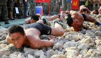 Latihan Berat Pasukan Militer Taiwan