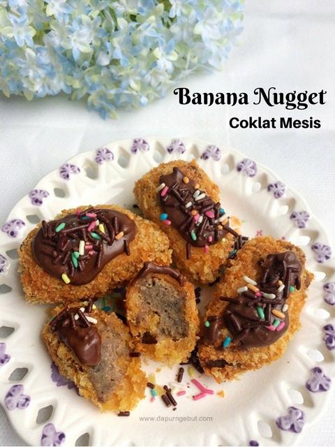 Resep Banana Nugget : resep, banana, nugget, Banana, Nugget, Coklat, Mesis, Dapur, Ngebut