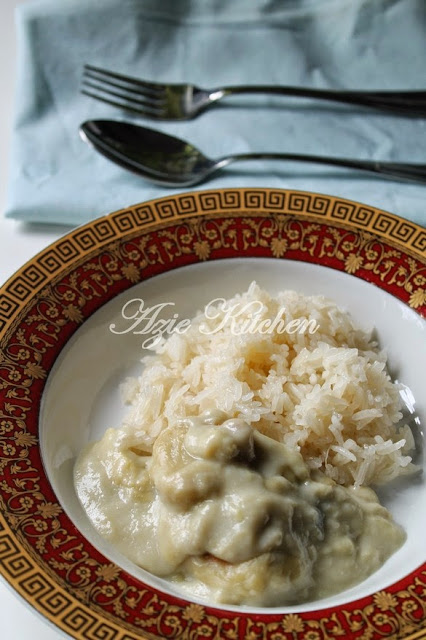 Pulut Dan Kuah Durian