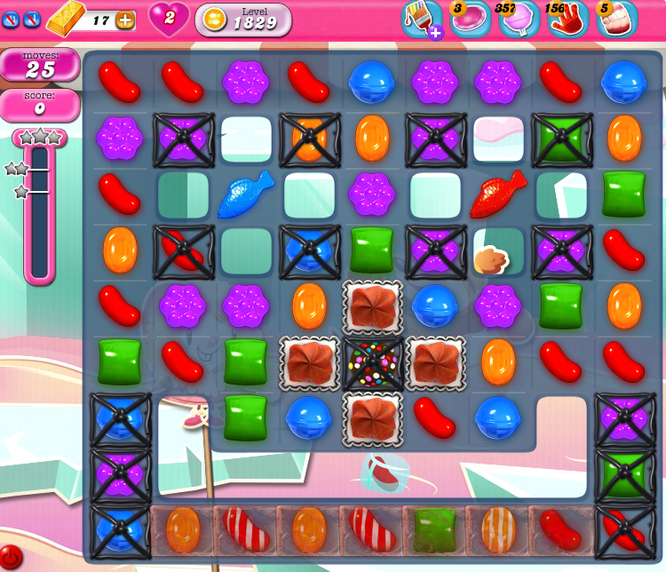 Candy Crush Saga 1829