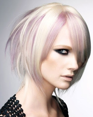 Two-Toned Blonde Style
