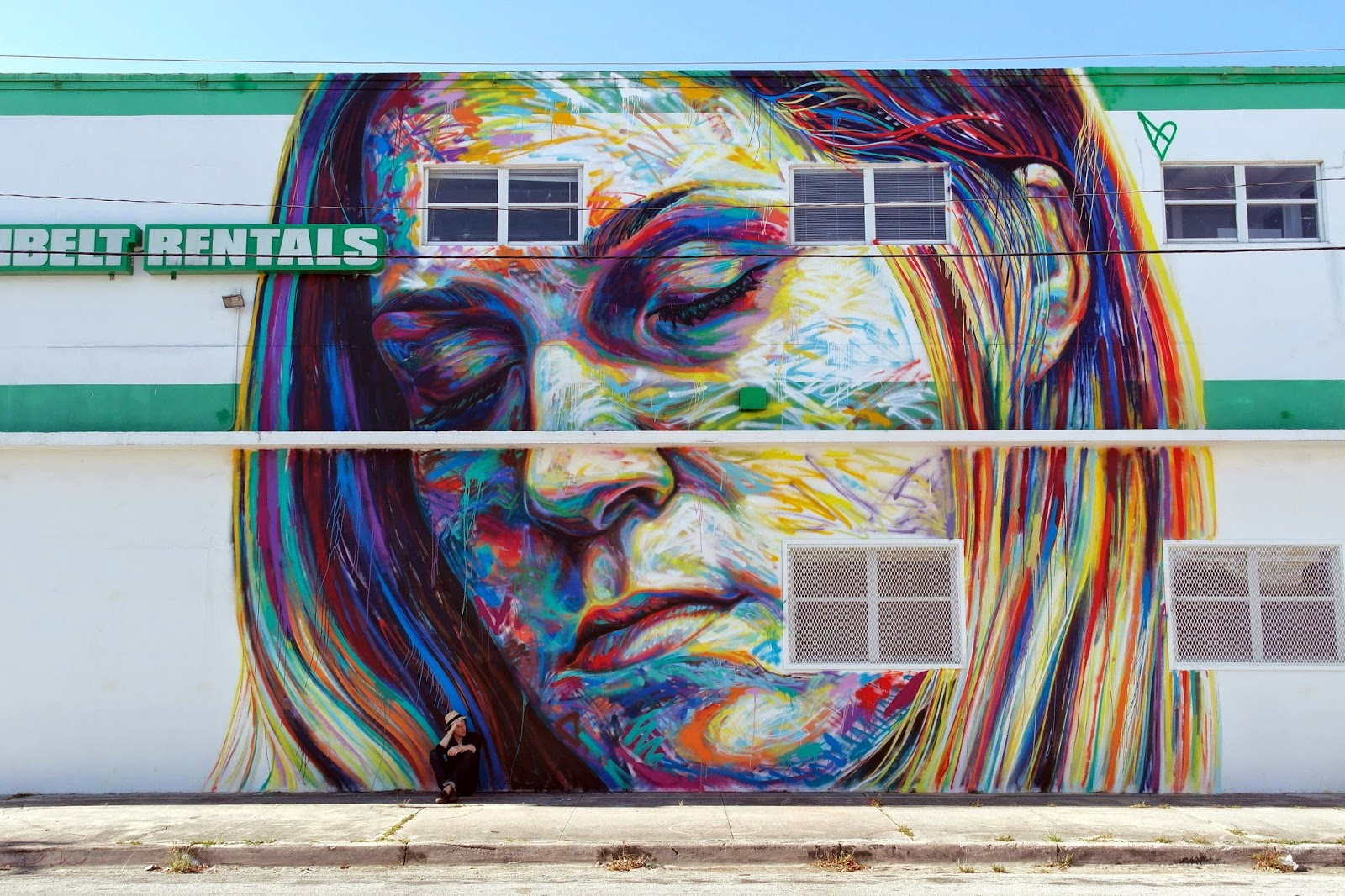 Our friend David Walker is currently in Miami, USA where he just finished working on this street art mural and for the upcoming opening of his solo exhibition at Robert Fontaine Gallery in Wywnood.
