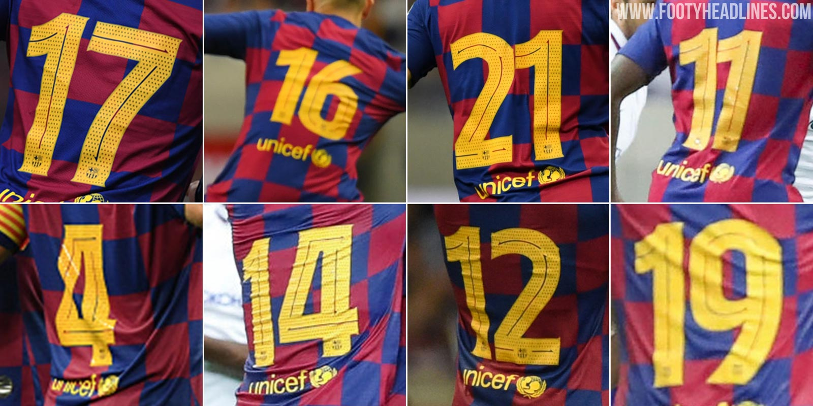the latest 9d09e fbf27 Official Debut Incoming: Full FC Barcelona 19-20 Font ...