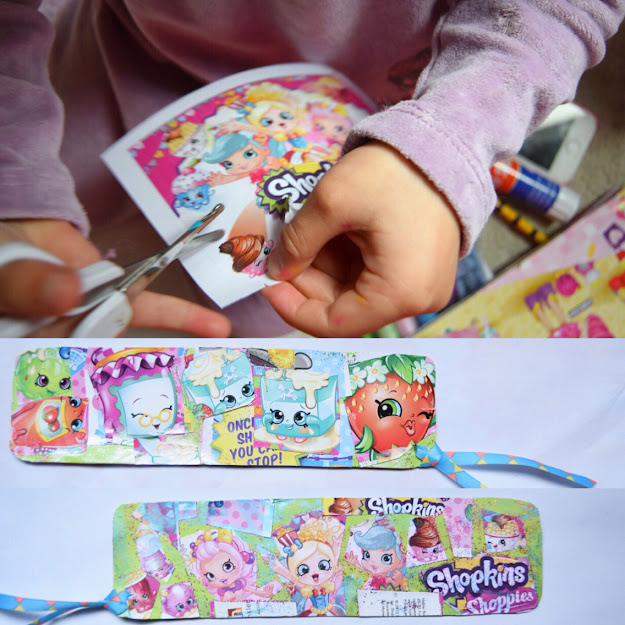 Here Is The Shopkins Bookmark That My  Years Old Made Shopkinsworld  Shopkins
