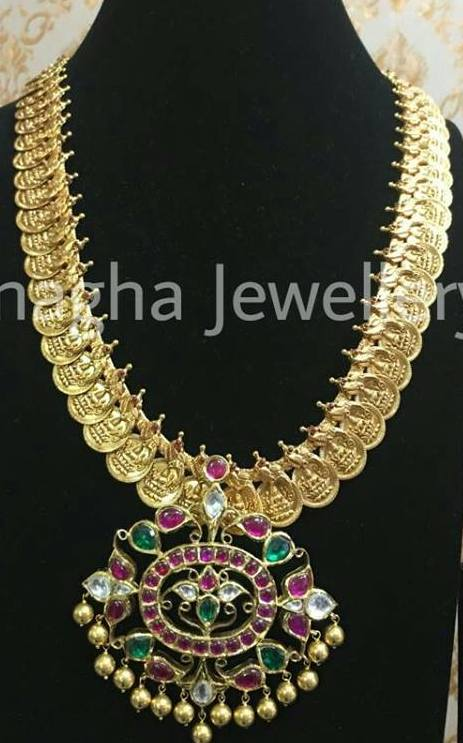 Kasu Mala with Pendant Sets