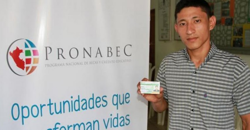 PRONABEC: Becario egresado de Beca Doble Oportunidad ingresa a la universidad - www.pronabec.gob.pe