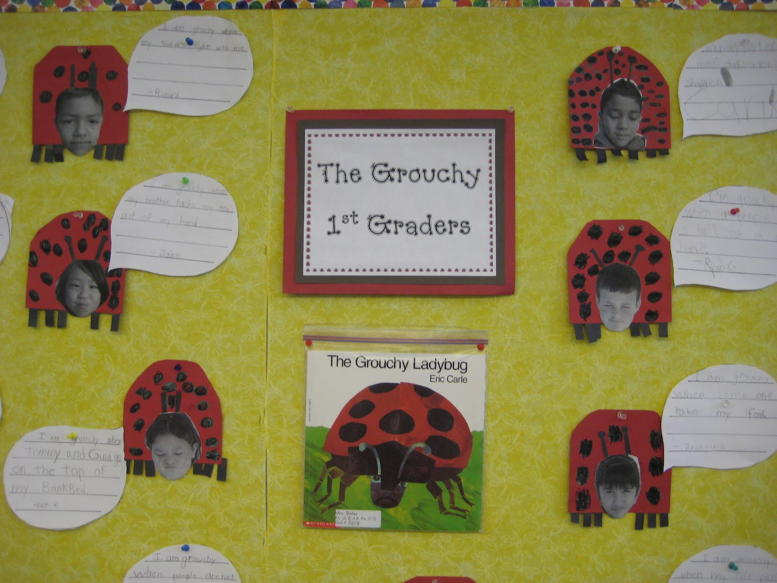Finally In First The Grouchy Ladybug