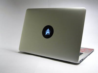 Star Trek Insignia Macbook Decal