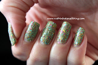Born Pretty Store: Candy Color Glitter Sparkle Yogurt Polishes