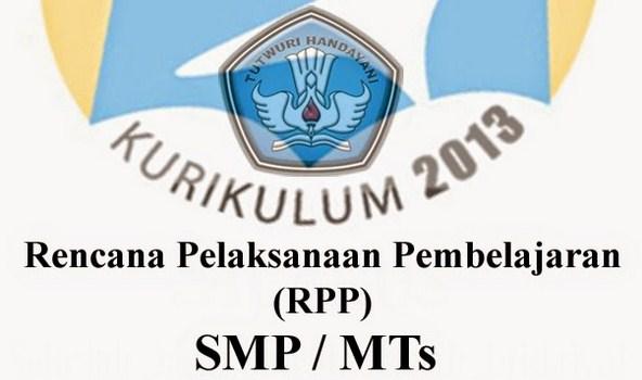 Silabus Kurikulum dan RPP 2013 Revisi 2017 SMP