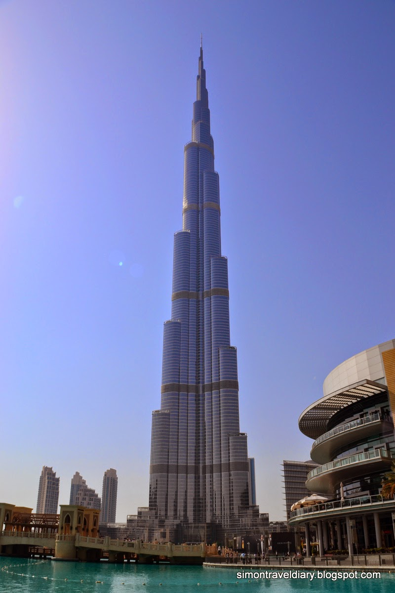 6000 Miles Away From Home: Dubai - Dubai Mall, Burj Khalifa