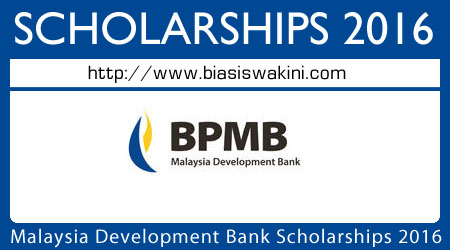 Malaysia Development Bank Scholarships 2016