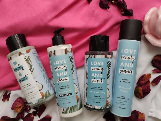 Love beauty and planet - Kosmetyki o naturalnym składzie na bazie wody kokosowej i kwiatu mimozy