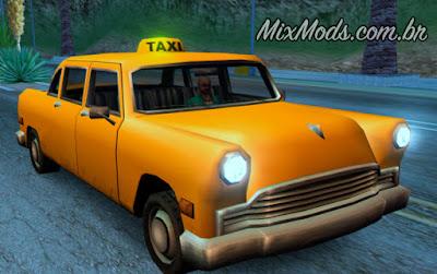gta sa mod fix correção placa táxi light acende noite