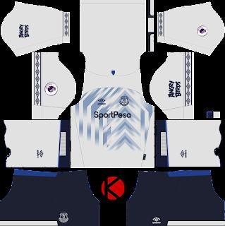 Everton FC 2018 19 Kit - Dream League Soccer Kits - Kuchalana 75cf60e1d